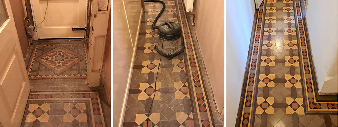 Victorian Hallway Floor Renovation in West Kirby